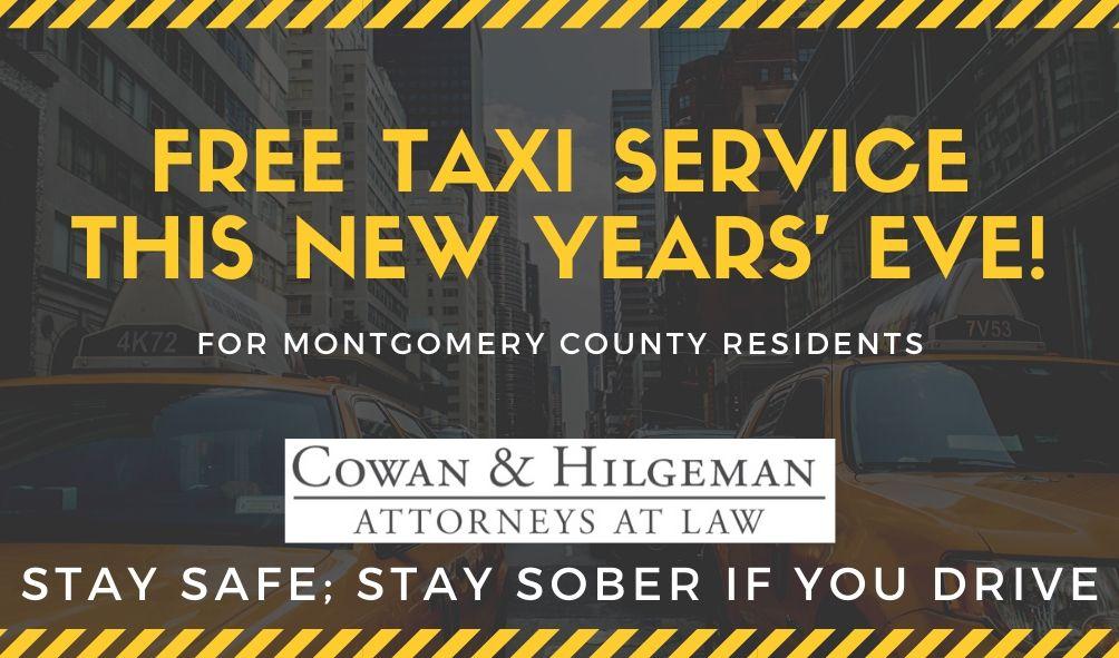 Free taxi service Dayton