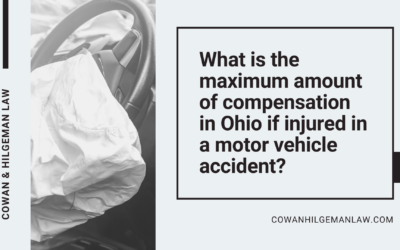 What is the Maximum Amount of Compensation in Ohio if Injured in a Motor Vehicle Accident?