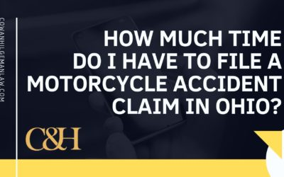 How Much Time do I Have to File a Motorcycle Accident Claim in Ohio?