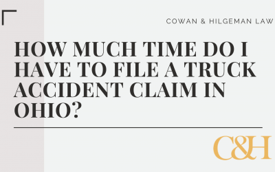 How Much Time do I Have to File a Truck Accident Injury Claim in Ohio?
