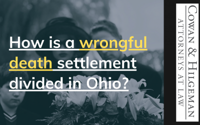 How is a Wrongful Death Settlement Divided in Ohio?