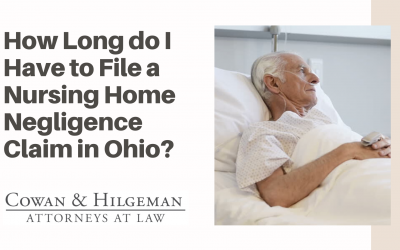 How Much Time do I Have to File a Nursing Home Personal Injury Claim in the State of Ohio?