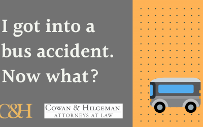 I Got into a Bus Accident. Now What?