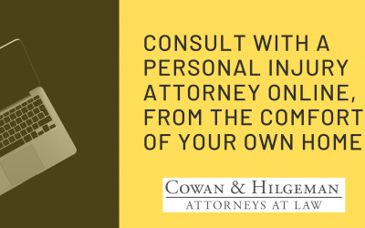 Online Consultation: Consult with a Personal Injury Attorney From the Comfort & Safety of Your Own Home