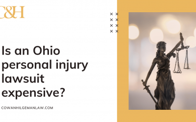Is an Ohio personal injury lawsuit expensive?