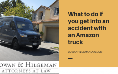 What to do if You Get Into an Accident With an Amazon Truck