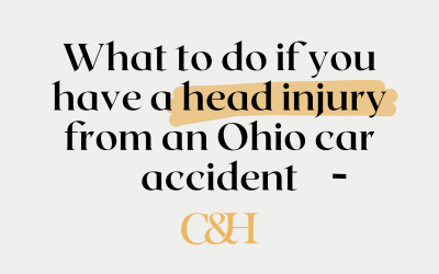 What do you do if you have a head injury from an Ohio car accident?