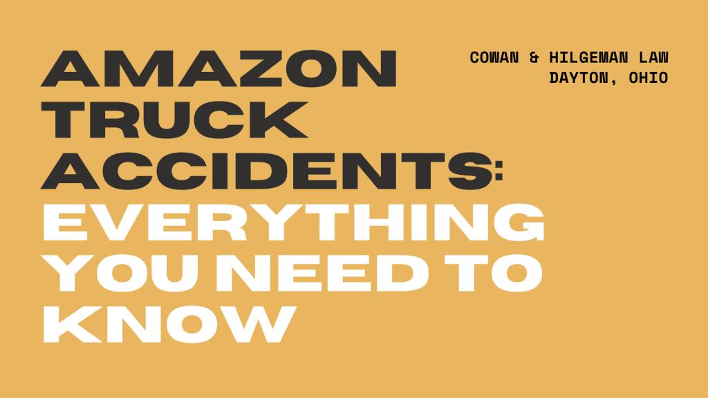 amazon truck accidents