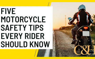 Five Motorcycle Safety Tips Every Rider Should Follow