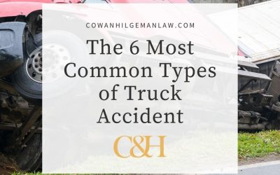 6 Most Common Types of Truck Accidents