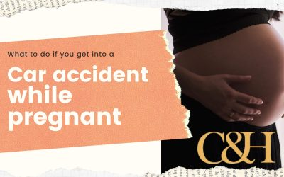 What to do if you get into a Car Accident While Pregnant