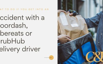 5 things you should do if you get into an accident with a Doordash driver