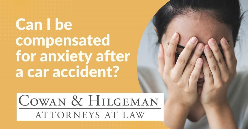anxiety after a car accident
