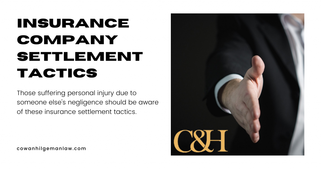 insurance company settlement tactics